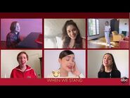 High School Musical Cast Performs 'We're All In This Together' - The Disney Family Singalong
