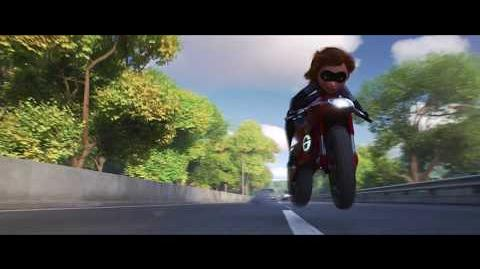 INCREDIBLES 2 New Clip - Elasticycle