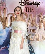 Keira Knightley Nutcracker & 4 Realms premiere