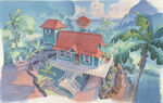 Lilo & Stitch - Lilo's house after remodel