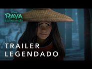 Raya E O Último Dragão - Trailer Oficial Legendado