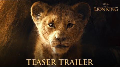 The Lion King Official Teaser Trailer