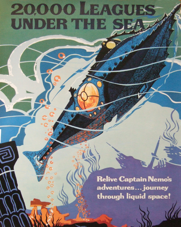 20 000 Leagues Under The Sea Submarine Voyage Disney Wiki Fandom
