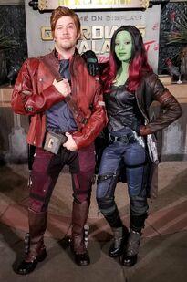 DCA Star-Lord and Gamora