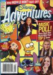 Disney Adventures Magazine cover September 2004 Music Poll