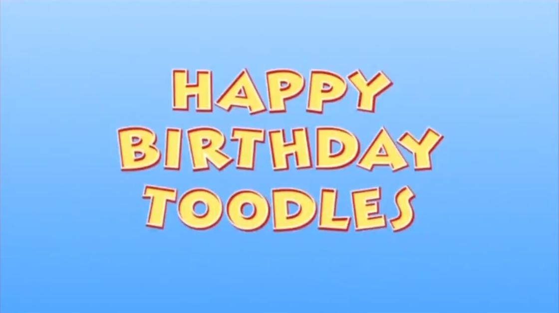 Happy Birthday Toodles