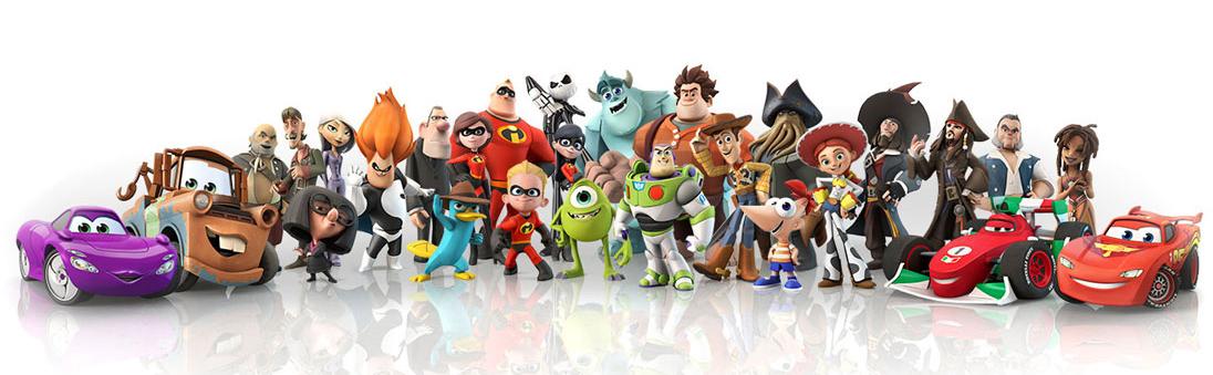Personajes de Disney INFINITY