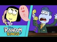 Ghost Friend 👻 - Random Rings - Big City Greens- Disney Channel
