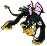 Pluto as Maleficent
