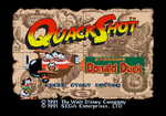 QuackShot Title Screen