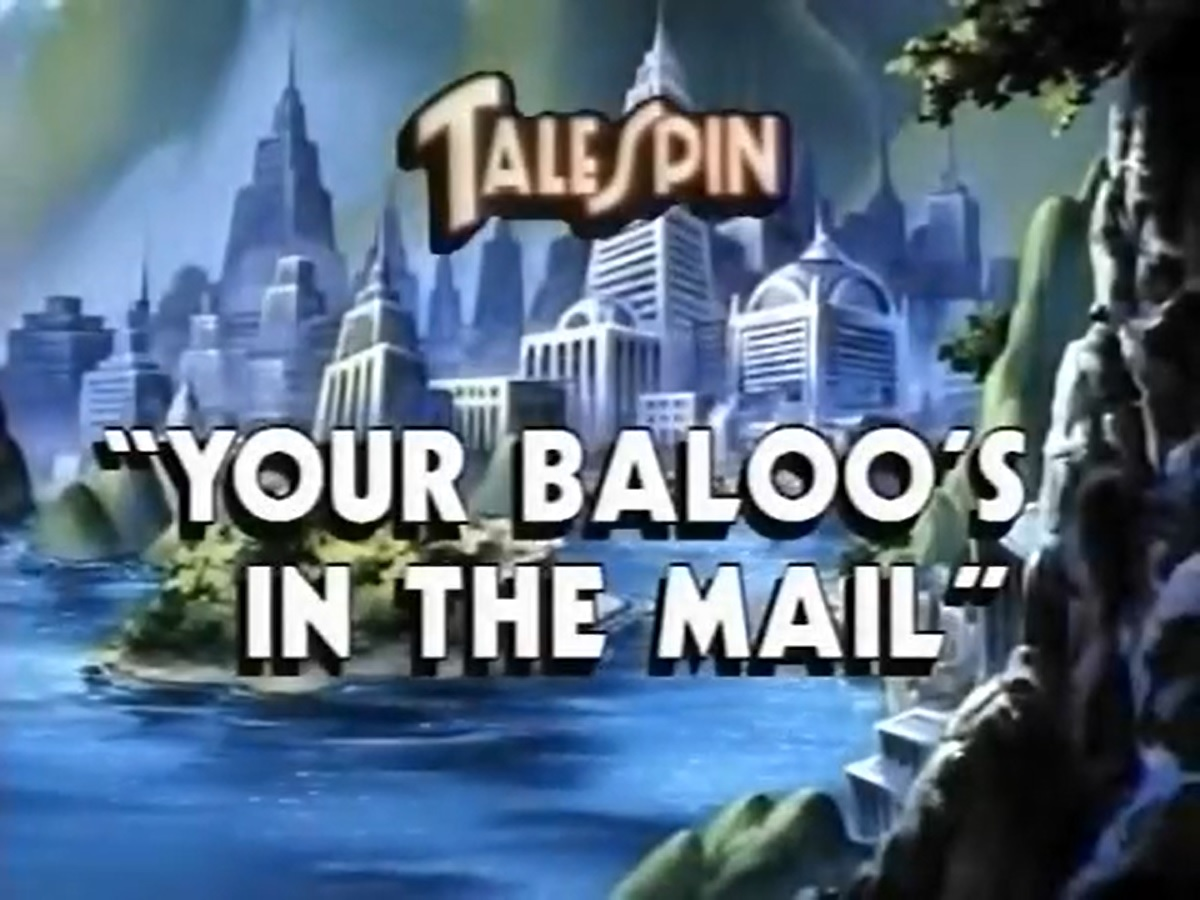 Your Baloo's in the Mail