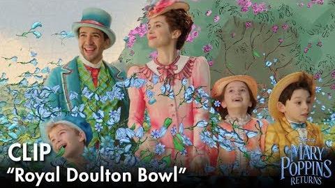 """Royal Doulton Bowl"" Clip Mary Poppins Returns"