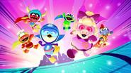 Muppet babies super heroes