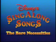 The Bare Necessities 1987 opening title