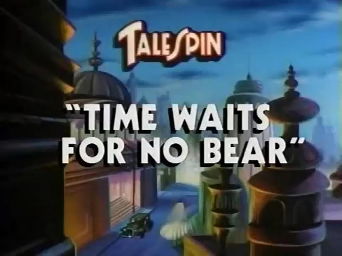 Time Waits for No Bear