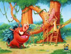 Timon & Pumbaa wallpaper.png