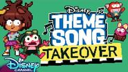 8-bit Theme Song Takeover Amphibia Disney Channel