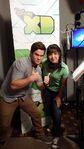 Adam DeVine and Tania Gunadi
