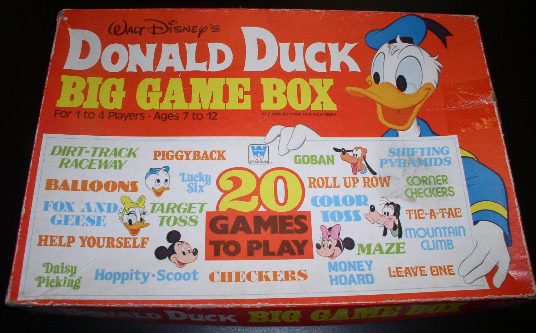 Donald Duck's Big Game Box