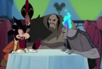 Mortimer con villanos