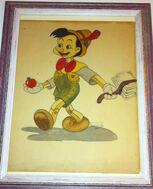 Pinocchio layout storyboard