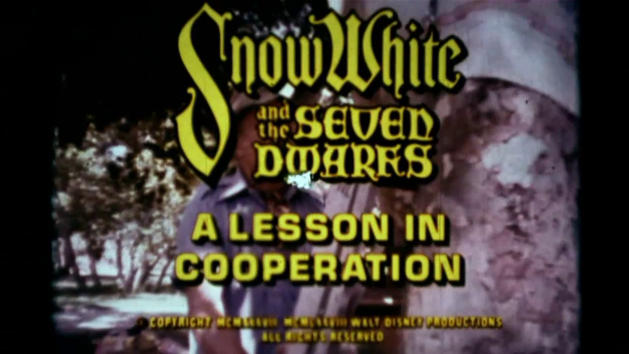 Snow White and the Seven Dwarfs: A Lesson in Cooperation