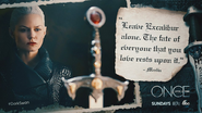 Once Upon a Time - 5x06 - The Bear and the Bow - Excalibur Quote