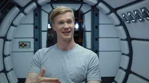"""SOLO Behind The Scenes """"Chewbacca"""" Joonas Suotamo Interview - A Star Wars Story"""