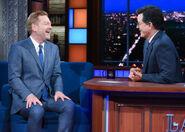 Kenneth Branagh visits Stephen Colbert