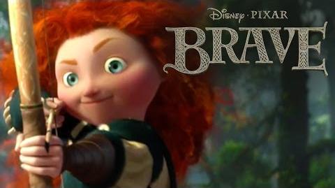 Brave Wonder Moss Disney Pixar