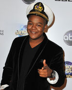 Kyle Massey DWTS 300th episode celebration