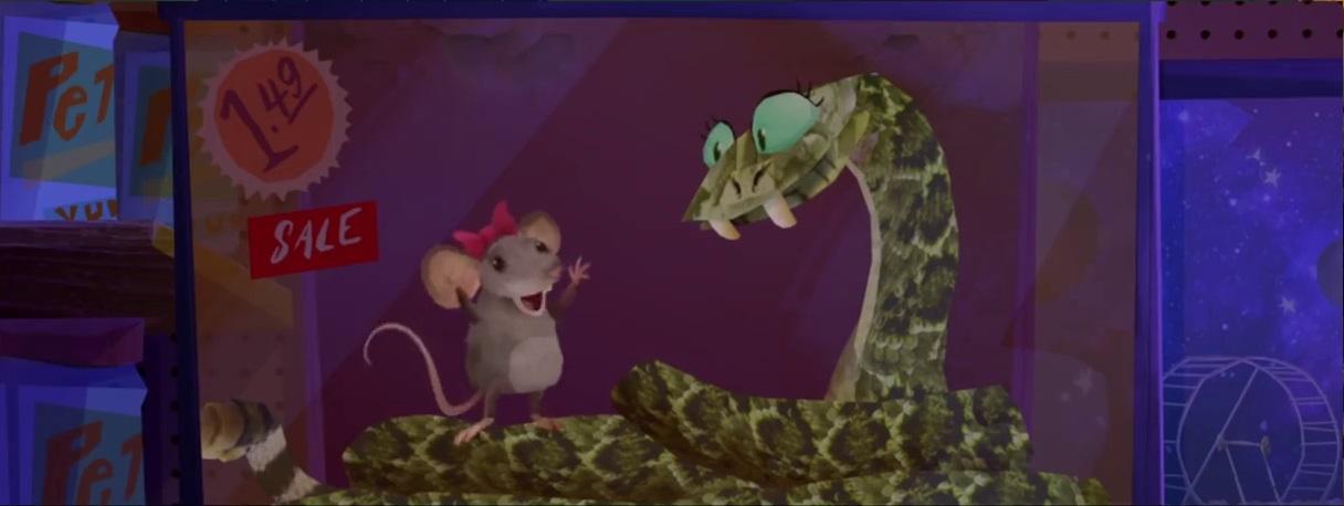 Mouse (Fish Hooks)