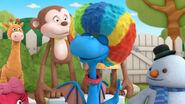 Stuffy in a clown costume 2