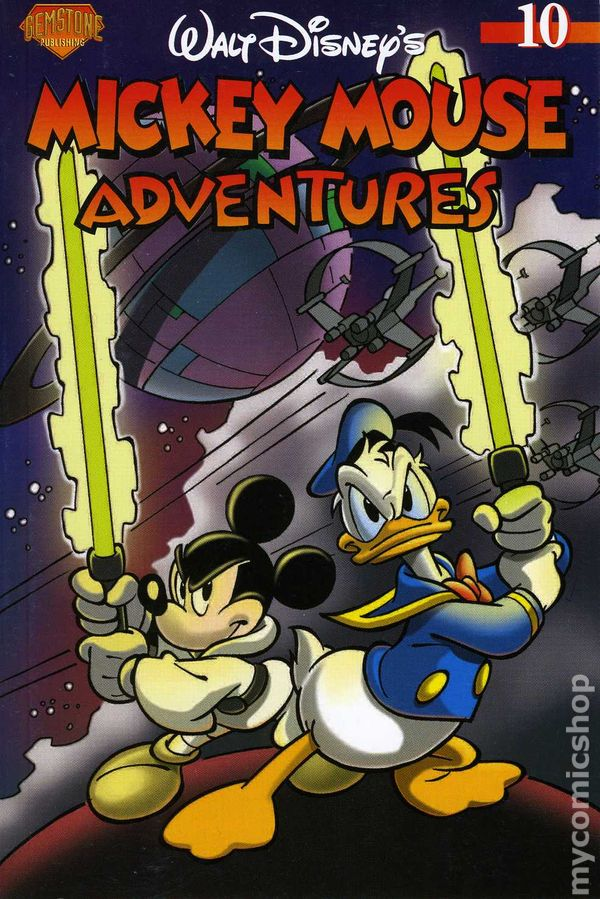 Mickey Mouse Adventures (Gemstone Publishing)