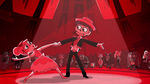 Curse of the Blood Moon - Marco dips Star during their dance