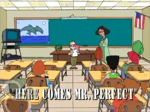 Here Comes Mr. Perfect