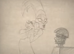 Kingdom of the Sun Yzma Pencil Test