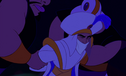 Jafar's goons pick up Aladdin from the ground after being restrained