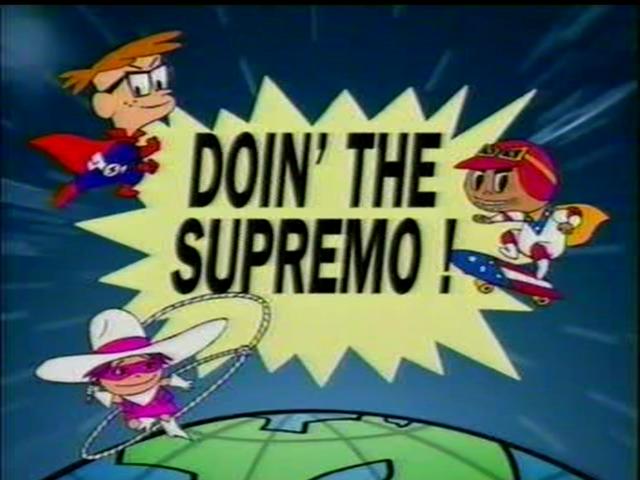Doin' the Supremo!