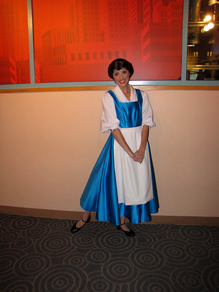 Belle Costumes Through the Years