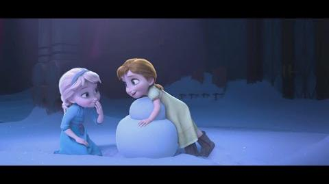 """""""Snowman"""" Clip - The Story of Frozen Making a Disney Animated Classic"""