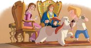 Belle and servants 2