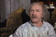 Jack Albertson as Grandpa Joe in Willy Wonka and the Chocolate Factory