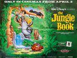 Jungle book 1993 uk quad