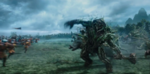 Maleficent Battle