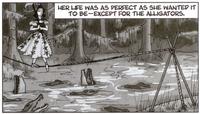 Tightrope Walker in the Comics