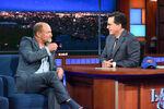Woody Harrelson visits Stephen Colbert