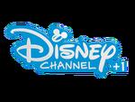 Logo Disney Channel+1 2017