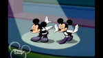 Mickey and Minnie take a bow