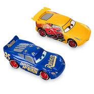 Rust-eze Cruz Ramirez & Fabulous Lightning McQueen Die Cast Twin Pack - Cars 3